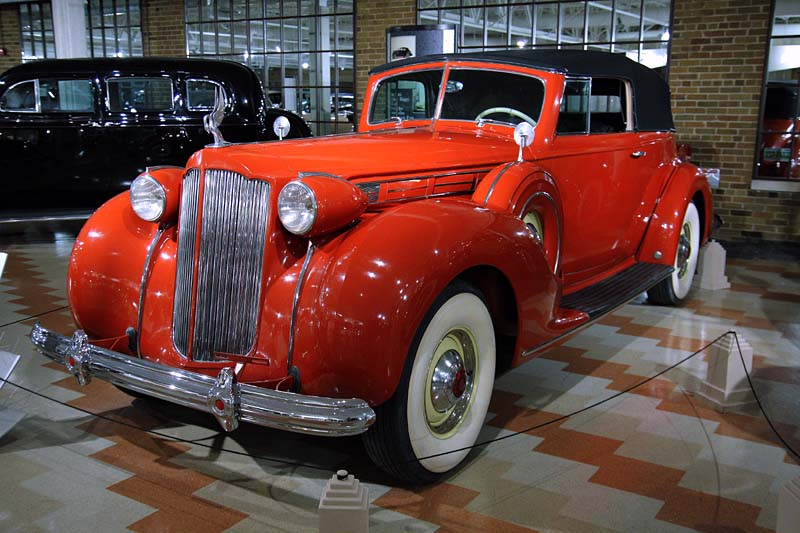 1938 Packard Convertible Victoria V12