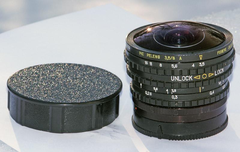 Peleng Improved Lens Cap Off