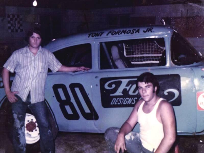 Tony Formosa Jr. First Race Car
