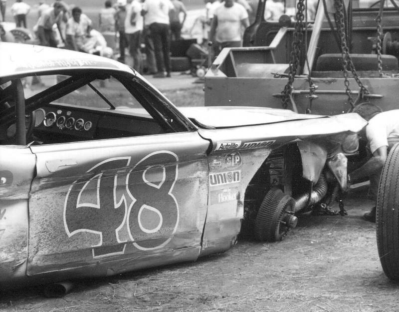 1970 420 James Hylton crash.