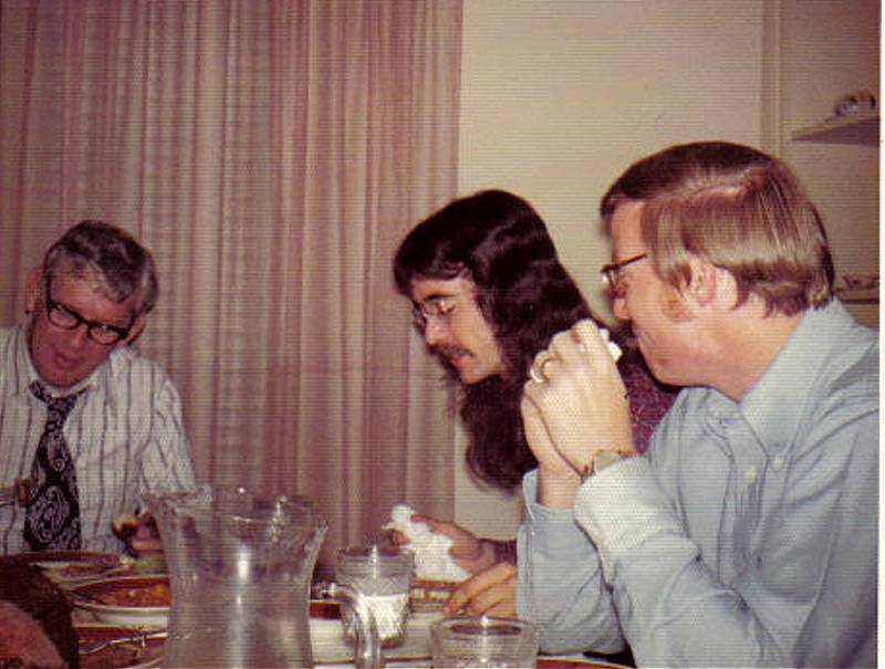 A Ray Williamson with sons Randy and Alan 1969