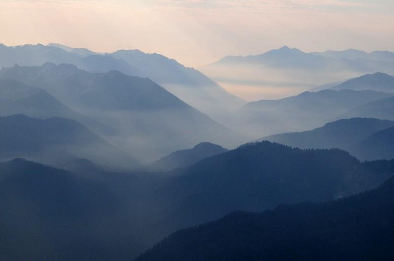 stillness in valley