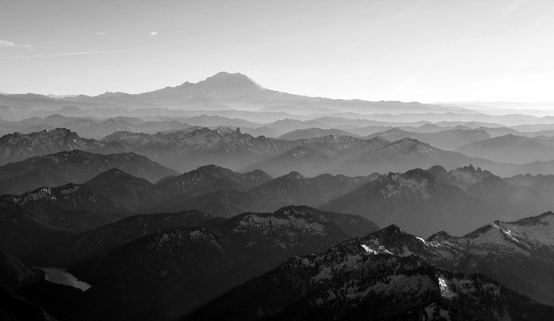 late afternoon across Cascades