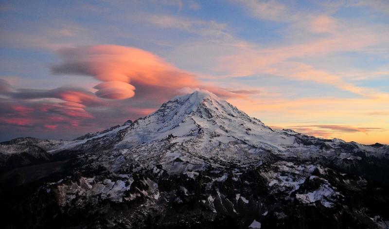 Mt Rainier created Lenticulars