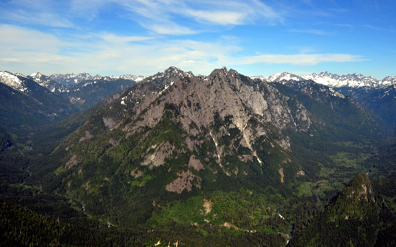 Middle Fork of Snoqualmie River Valley