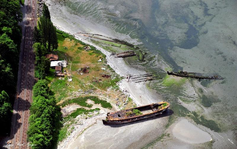 Mukilteo Shipwreck, Shipwreck Point, Picnic Point, Mukilteo, Washington State