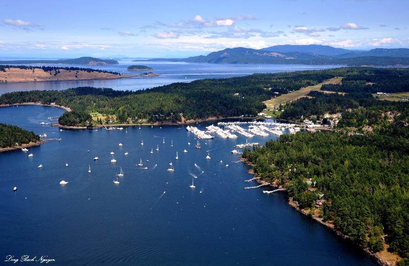 Roche Harbor and Marina, San Juan Island, Washington