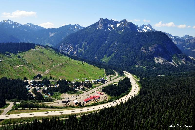 Snoqualmie Summit Ski Area, Snoqualmie Pass, Interstate 90, Denny Mountain, Cascade Mountains, Washington