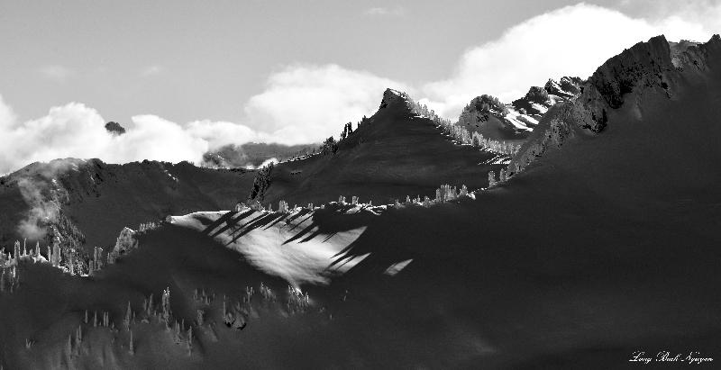 Bare Mountain, Prospectors Ridge, Cascade Mountains, Washington