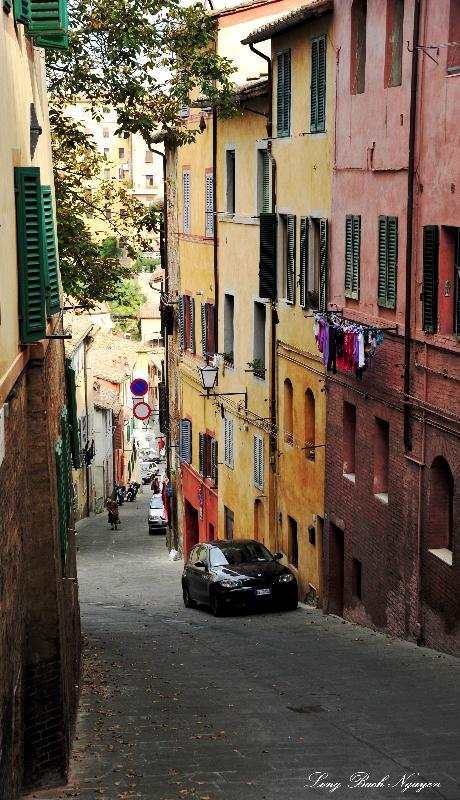 Via degli Orti, Siena, Italy