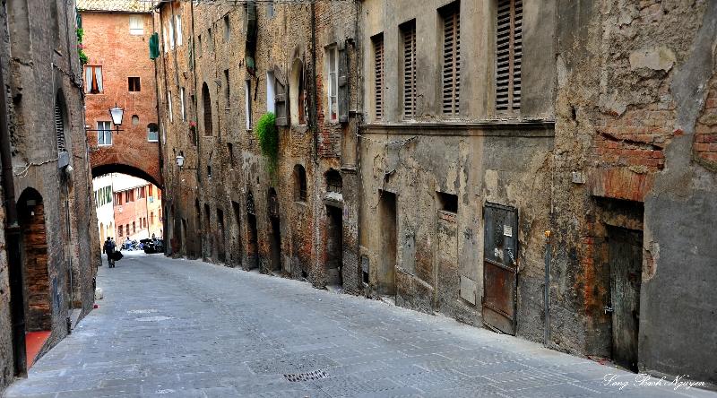 Via Pellegrini, Siena, Italy