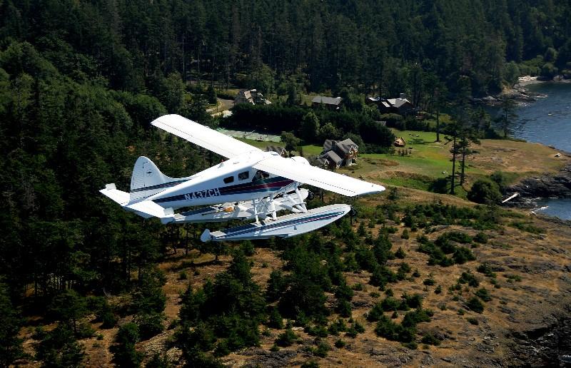 Over San Juan Island