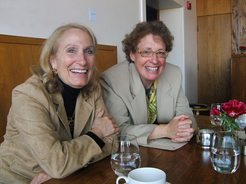 College chum Nada and Filmmaker Kate Regan