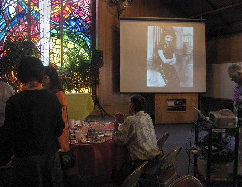 Auntie Mays memorial celebration
