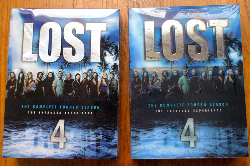 B&N Season 4 cover vs fake Season 4 cover