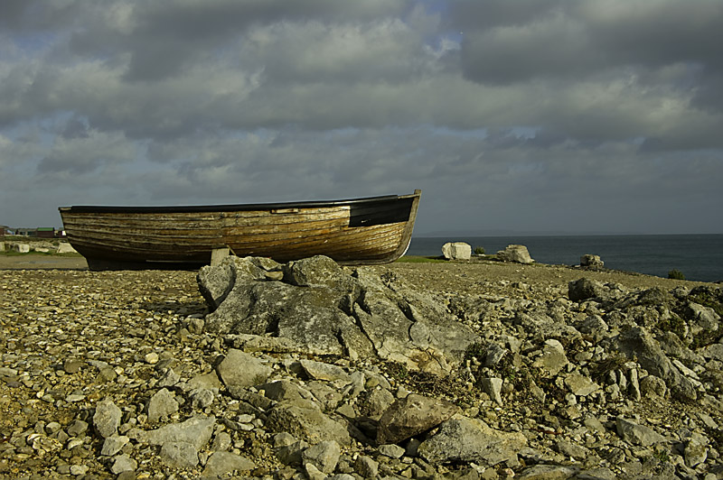 Boat on the Rocks