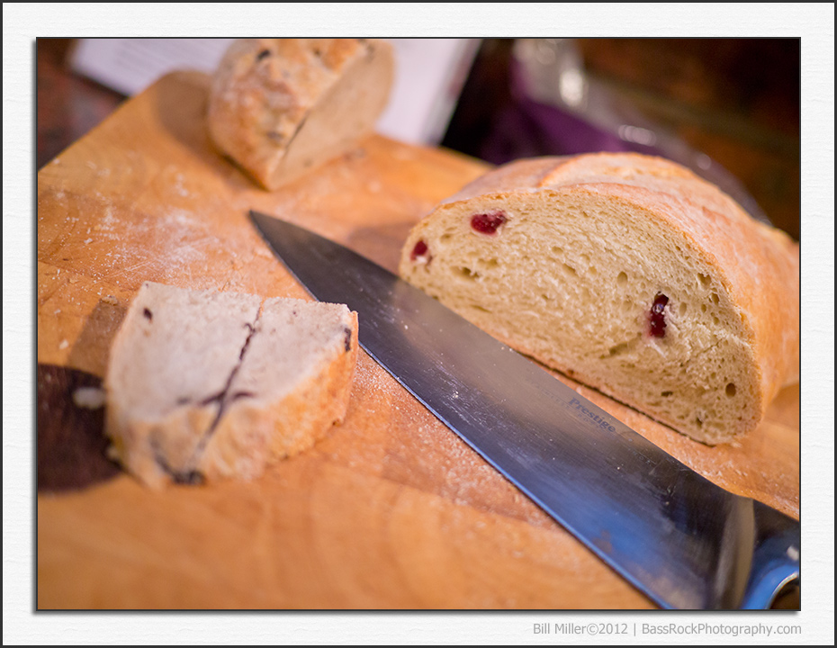 Cheese and Cranberry Bread