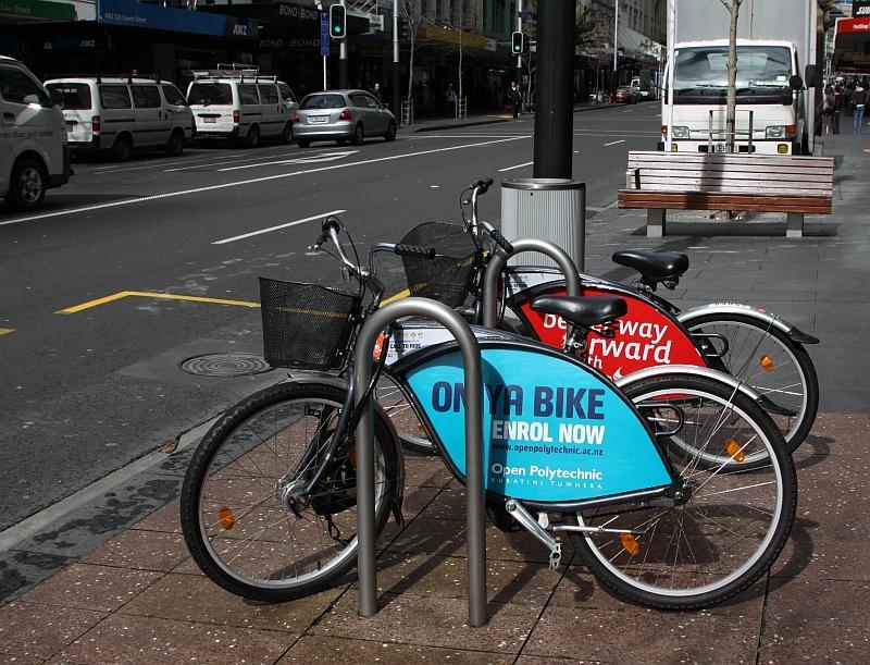 On Ya Bike in Queen Street.jpg