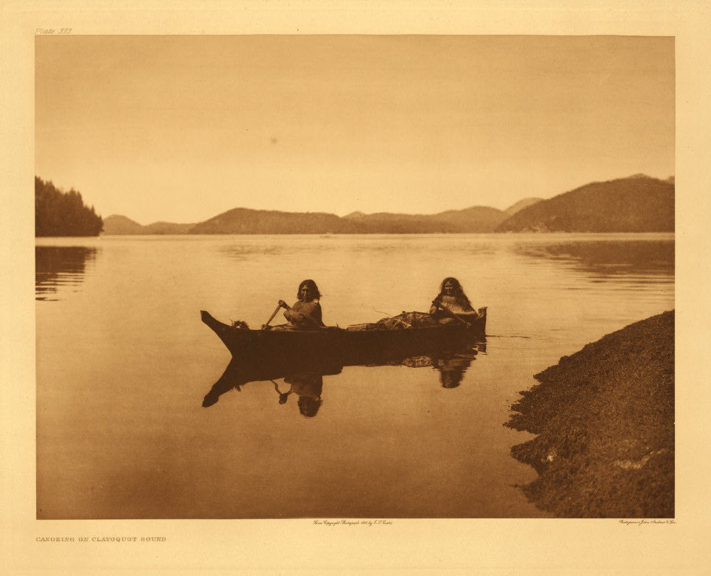 Canoeing on Clayoquot Sound