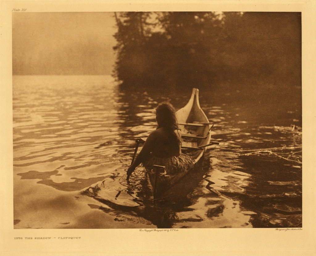 Into the shadow - Clayoquot