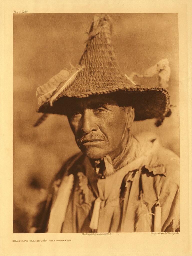 Klamath warriors headdress