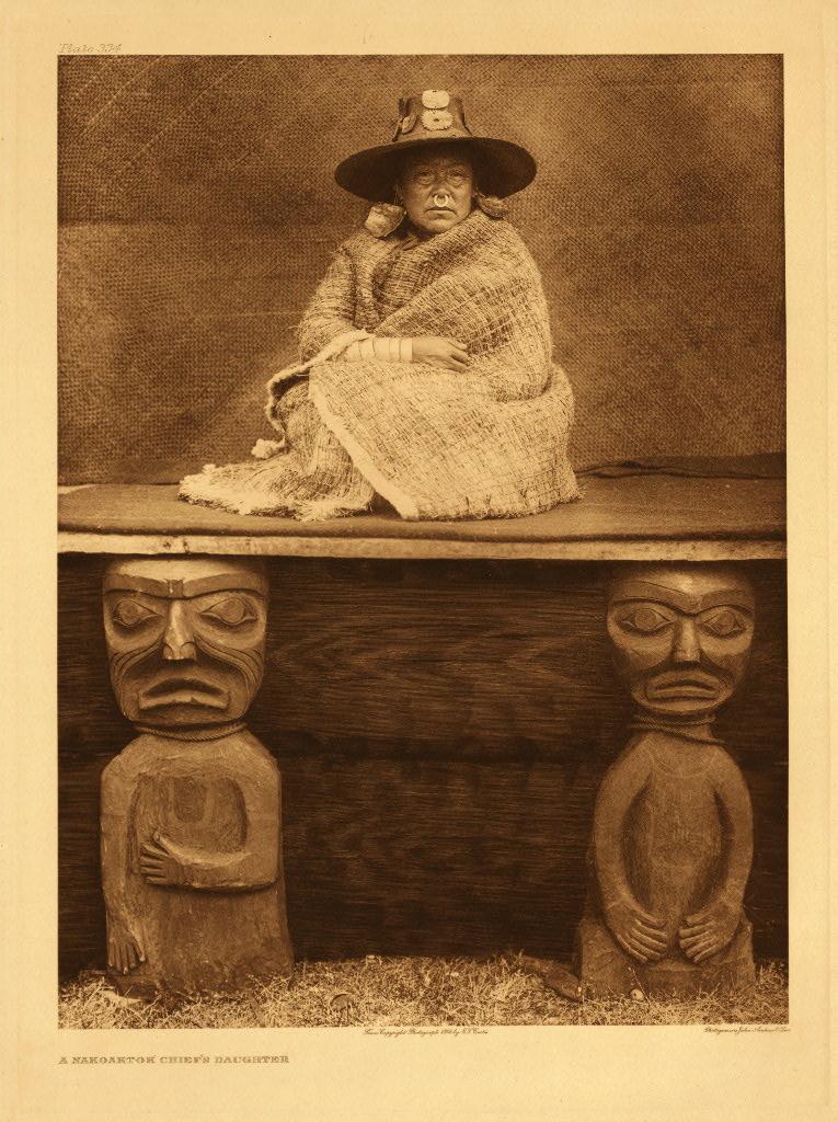 Nakoaktok chiefs daughter