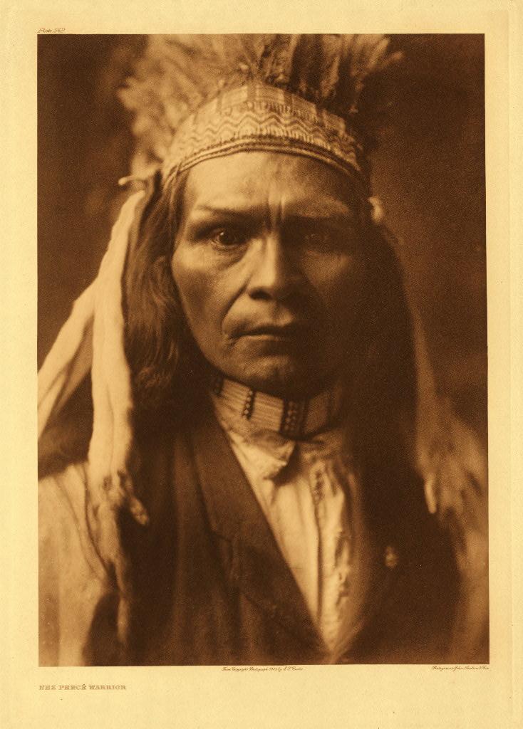 Nez Perce warrior