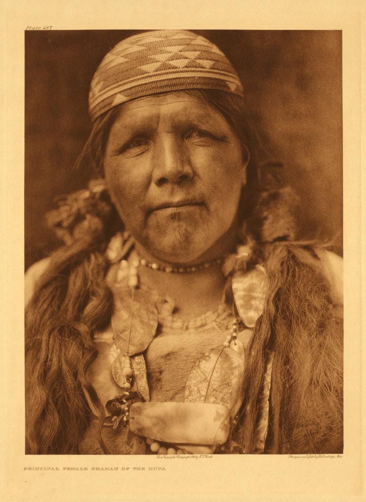 Principal female shaman of the Hupa