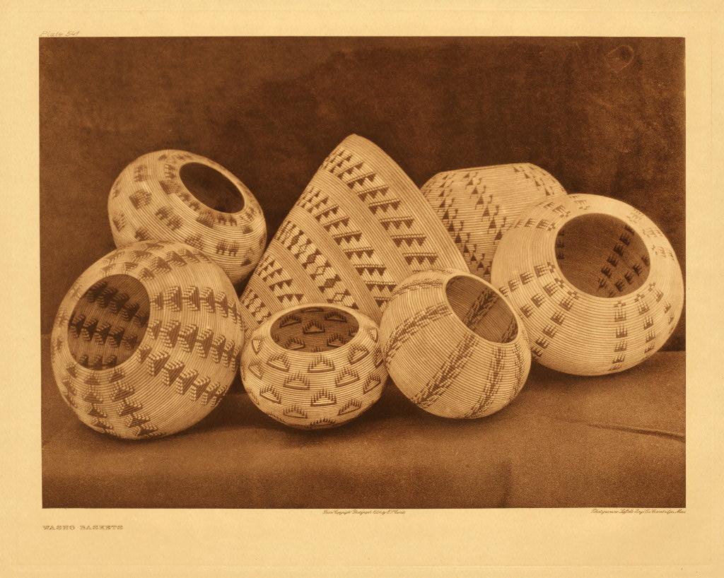 Washo baskets