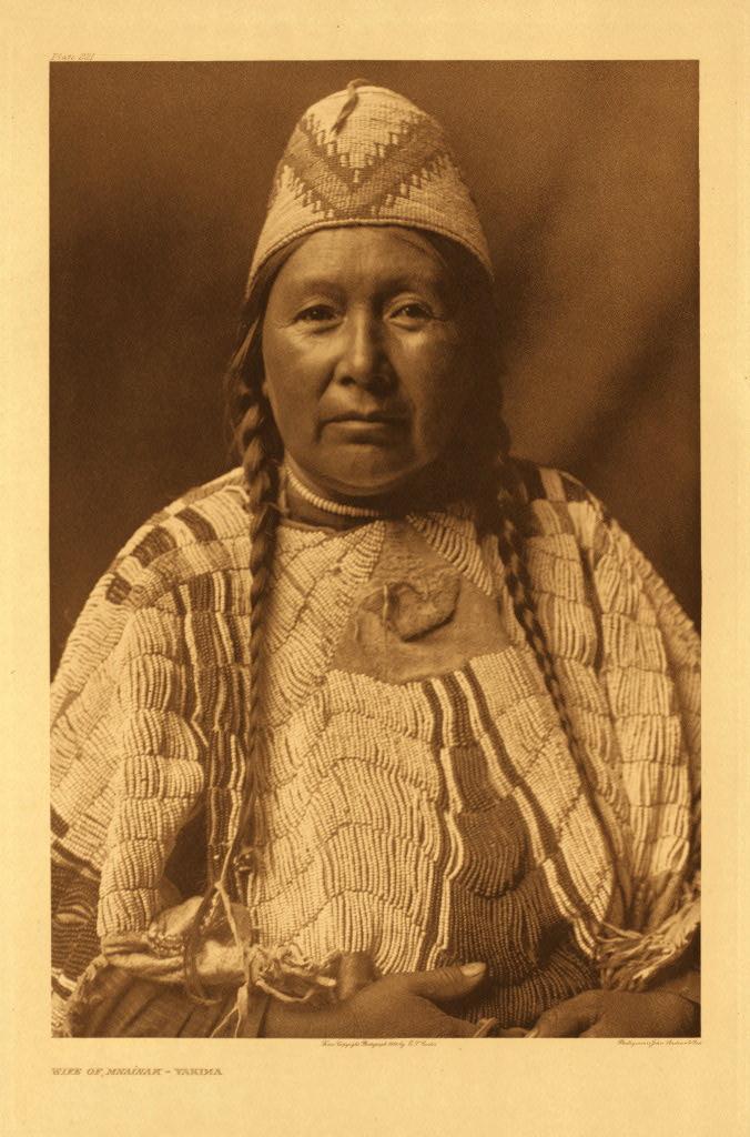 Wife of Mnainak - Yakima