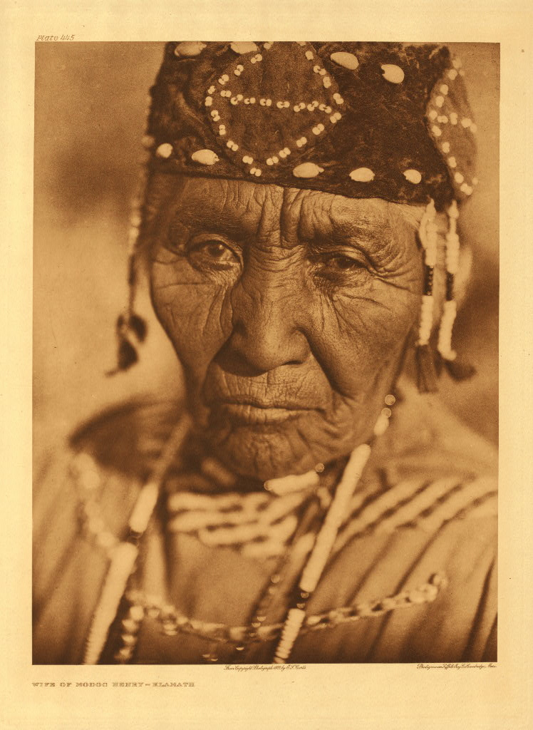 Wife of Modoc Henry - Klamath