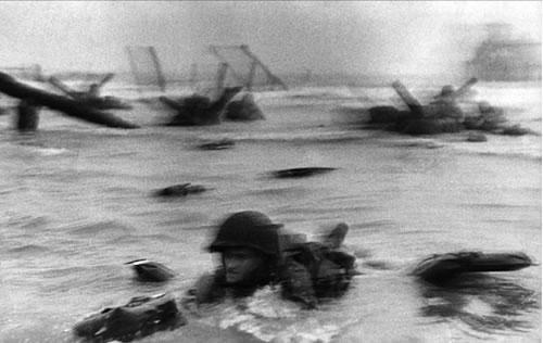 Omaha Beach Normandy France - Robert Capa, 1944