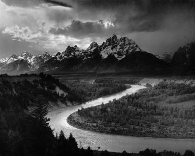 The Tetons – Snake River - Ansel Adams, 1942