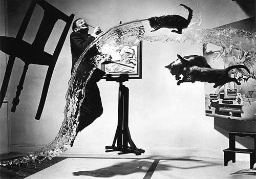Dali Atomicus - Philippe Halsman, 1948