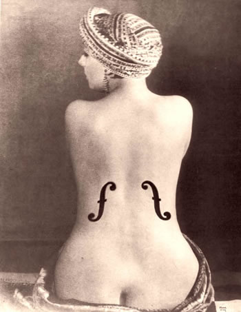 Le Violon d'Ingres - Man Ray, 1924
