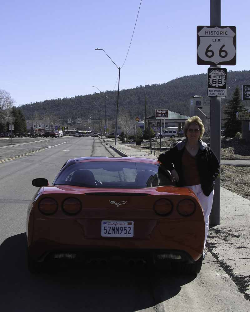 Route 66 in Williams Arizona