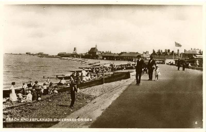 Beach & Esplanade 1931