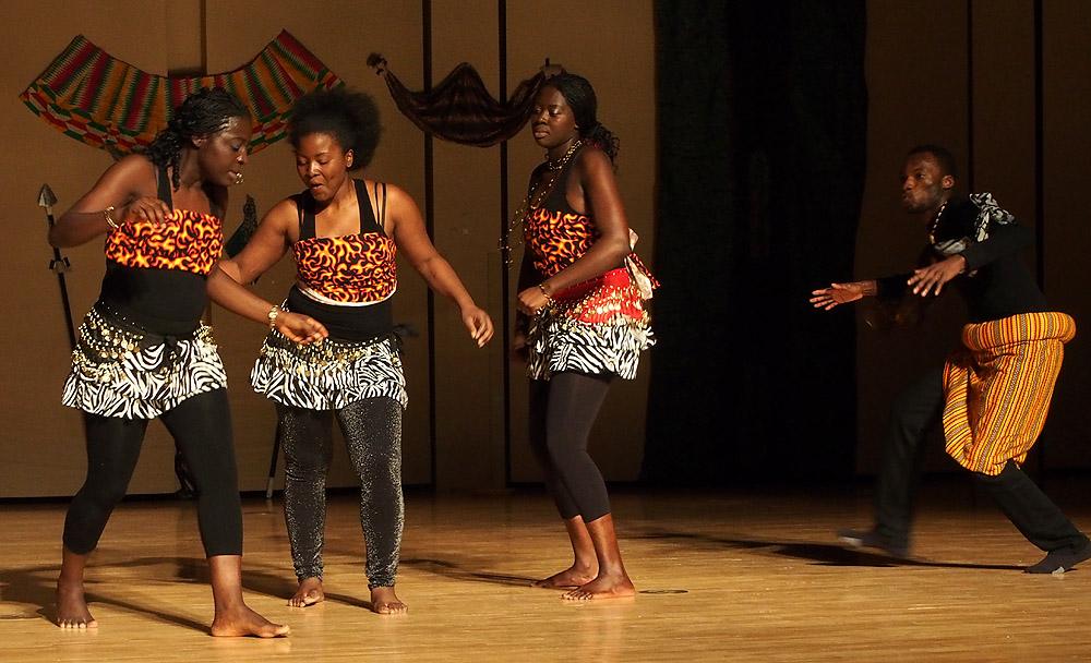 Cameroon Dance at Africa Night 2013 at ISU 077.jpg