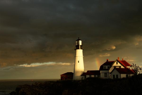 jpg/9994  5 ANGELS/GULLS RIDE THE LIGHT!!! portland head light, lighthouses, by donald verger