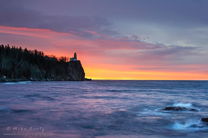 Split rocks beautiful sunrise