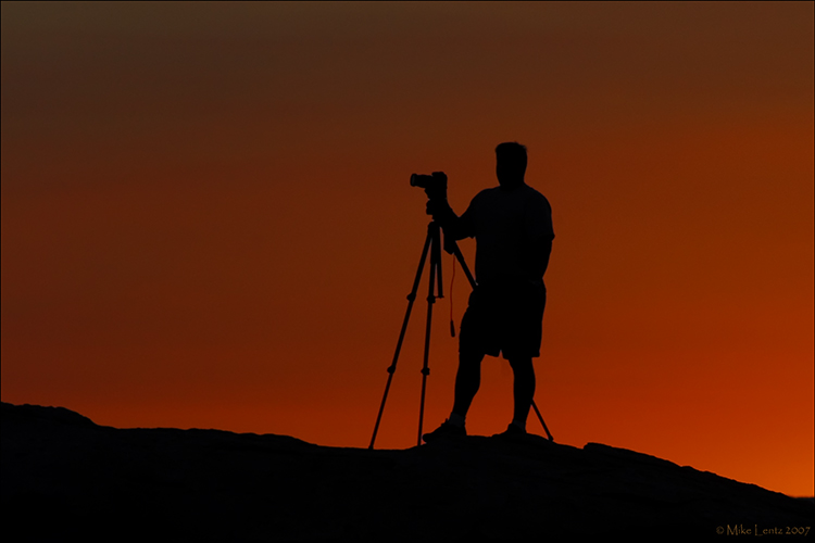 Mike Lentz silhouette