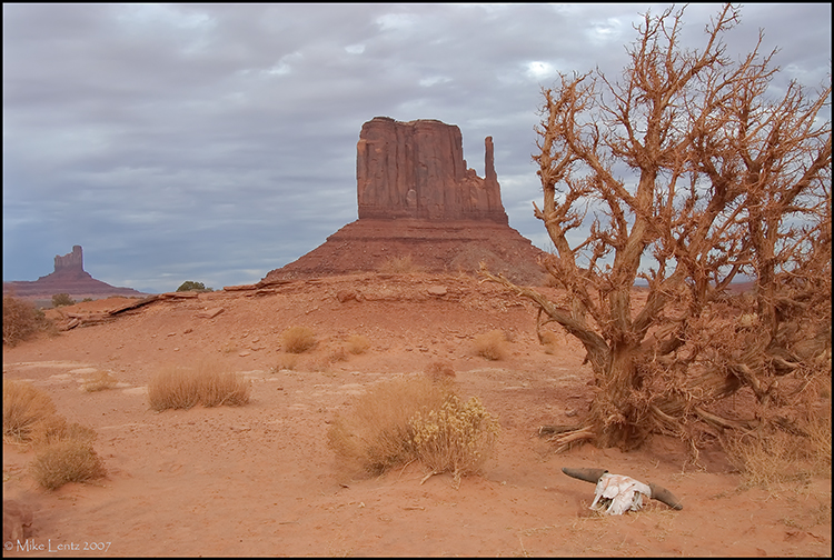 Mitten at Monument Valley