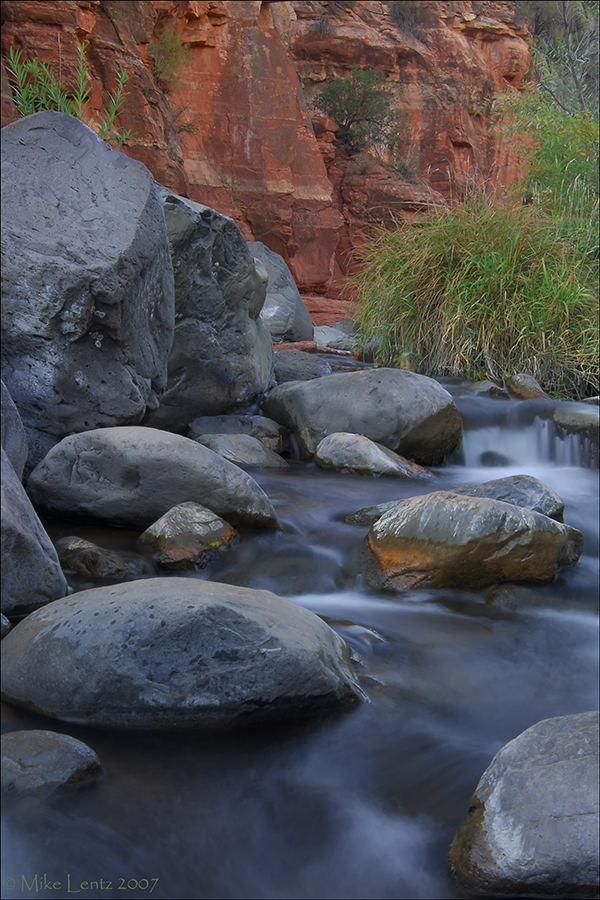 Oak Creek Canyon stream