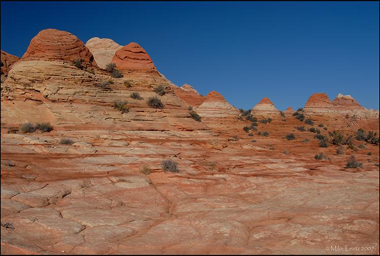 Sandstone teepees