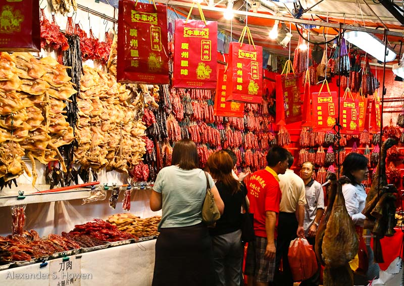 Meat delicacies for Chinese New Year