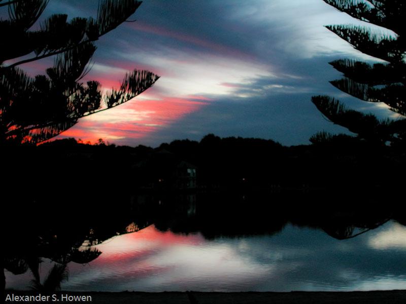 Relective dusk 1