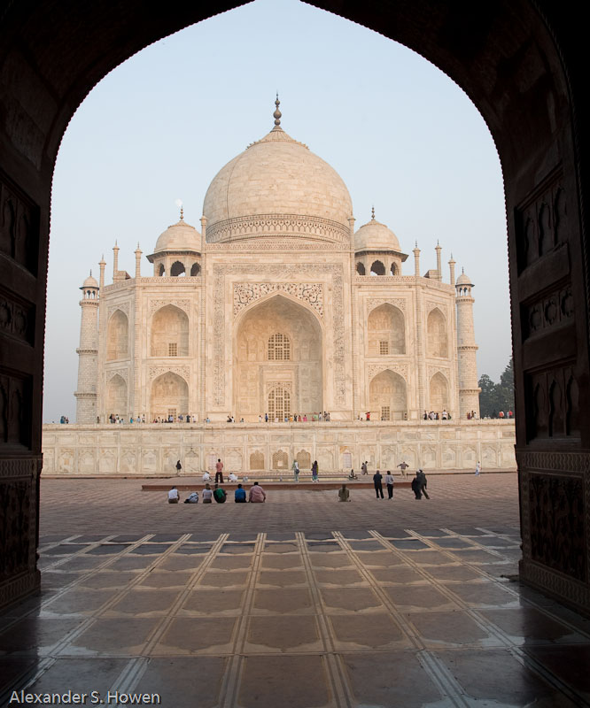 Western side of Taj Mahal