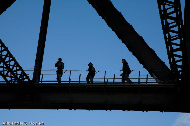 Sydney Harbour Bridge climb 1