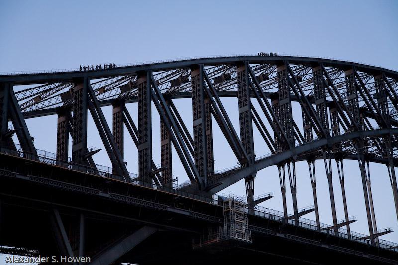 Sydney Harbour Bridge climb 2