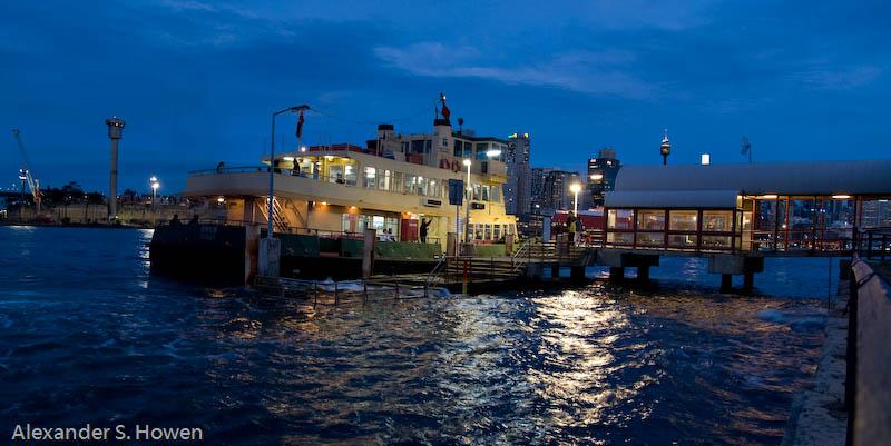 Sydney Ferry at Balmain Wharf